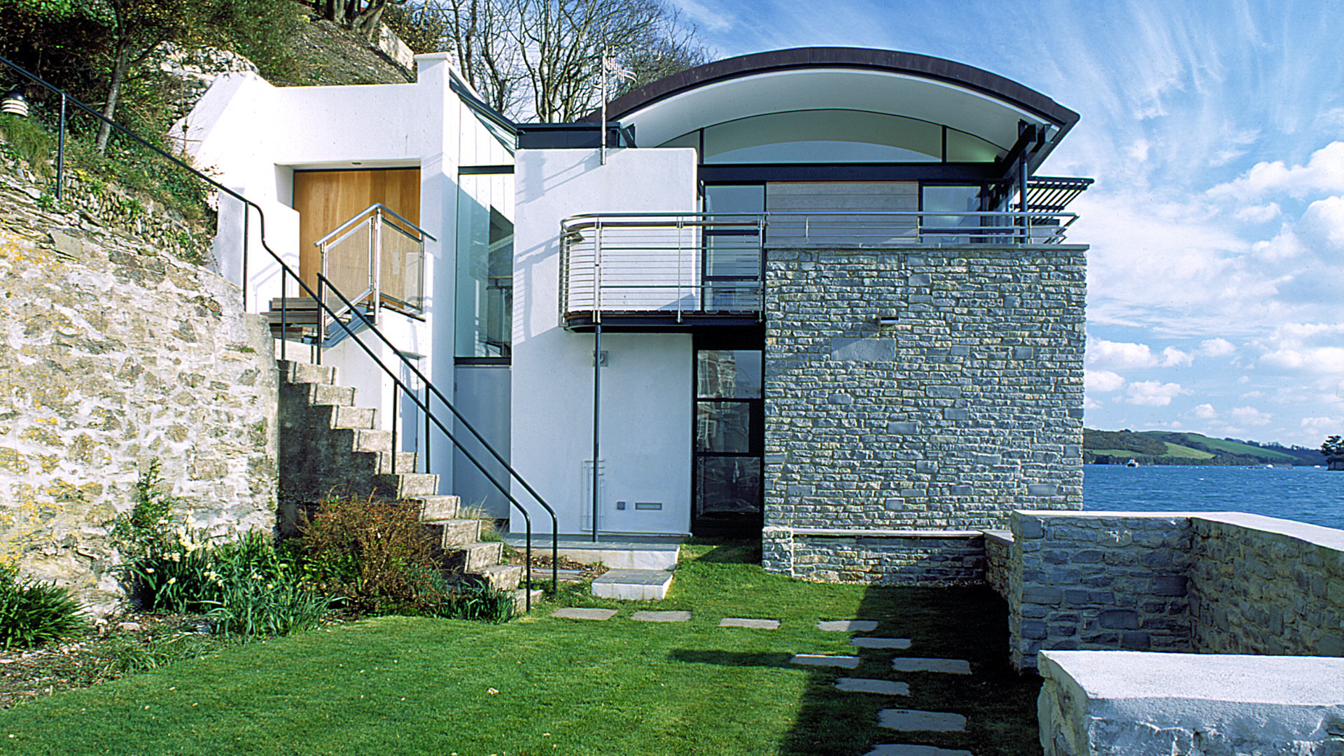 O sullivan house salcombe devon stan bolt architect for Modern irish house architecture